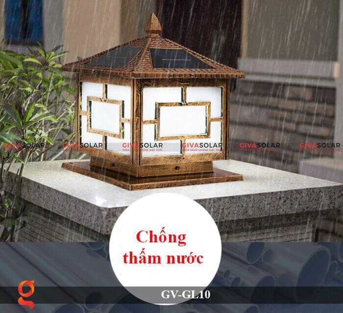 Đèn trụ cổng sử dụng năng lượng mặt trời GV-GL10 7
