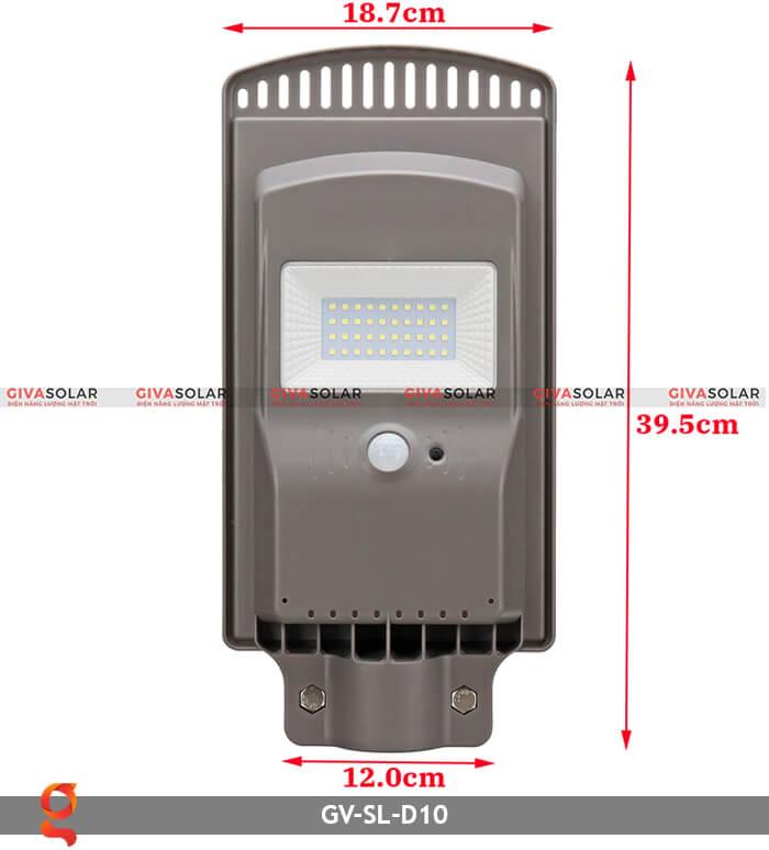 Đèn đường dùng năng lượng mặt trời GV-SL-D10 10