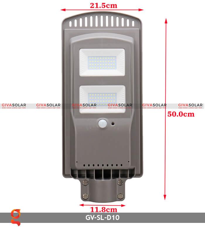 Đèn đường dùng năng lượng mặt trời GV-SL-D10 11
