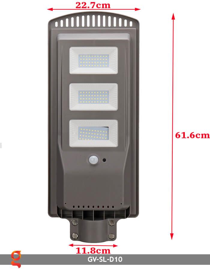 Đèn đường dùng năng lượng mặt trời GV-SL-D10 12