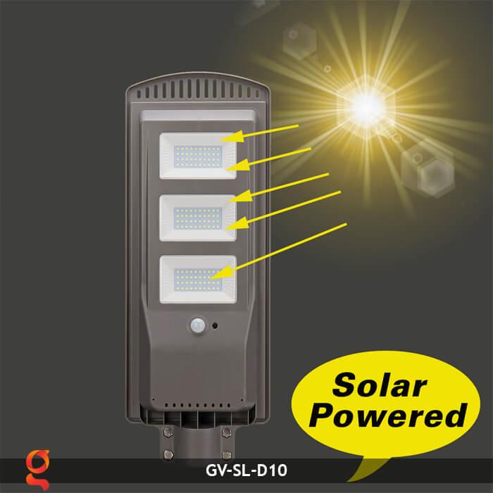 Đèn đường dùng năng lượng mặt trời GV-SL-D10 13