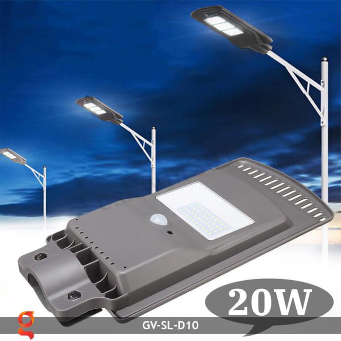 Đèn đường dùng năng lượng mặt trời GV-SL-D10 2