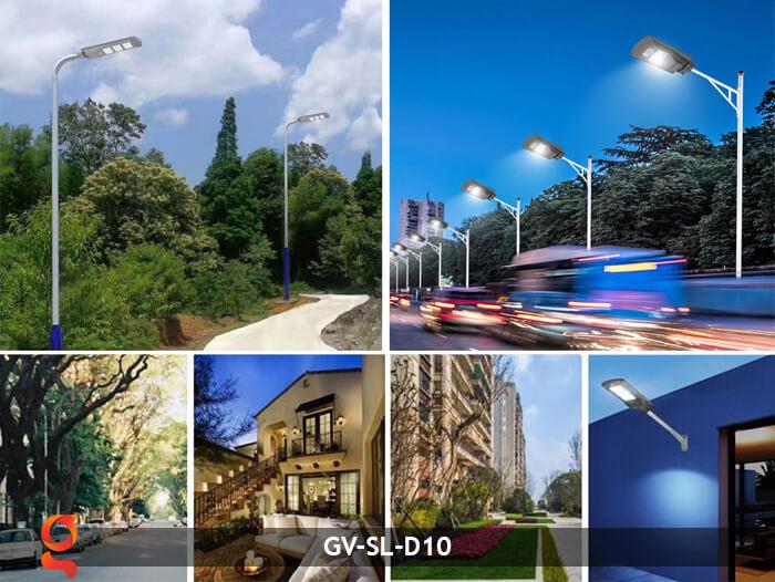 Đèn đường dùng năng lượng mặt trời GV-SL-D10 20