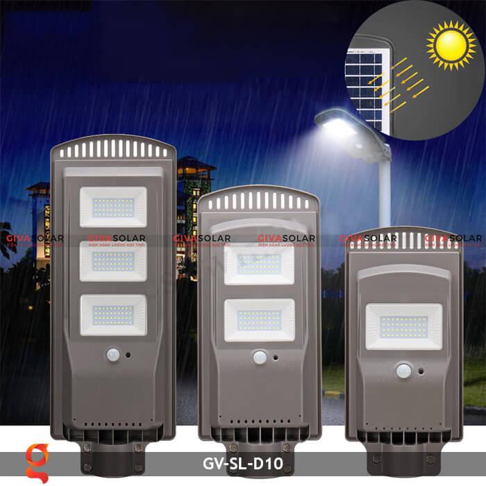 Đèn đường dùng năng lượng mặt trời GV-SL-D10 5