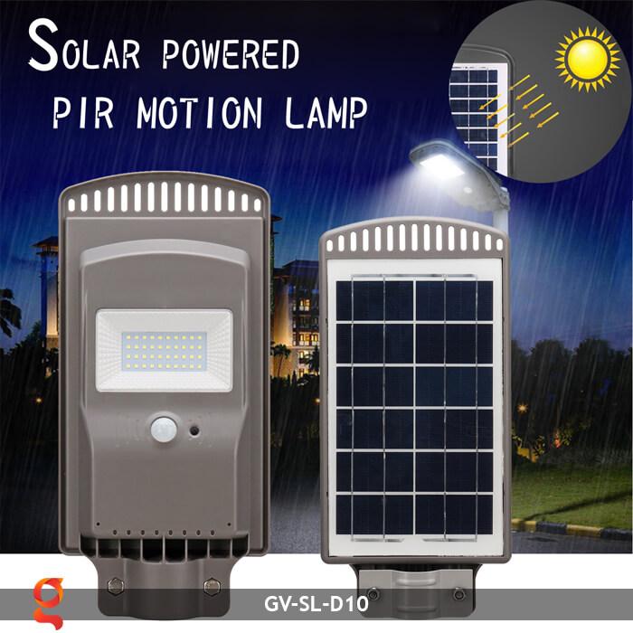 Đèn đường dùng năng lượng mặt trời GV-SL-D10 7