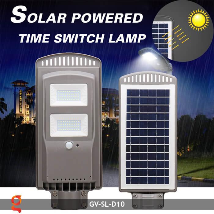 Đèn đường dùng năng lượng mặt trời GV-SL-D10 8