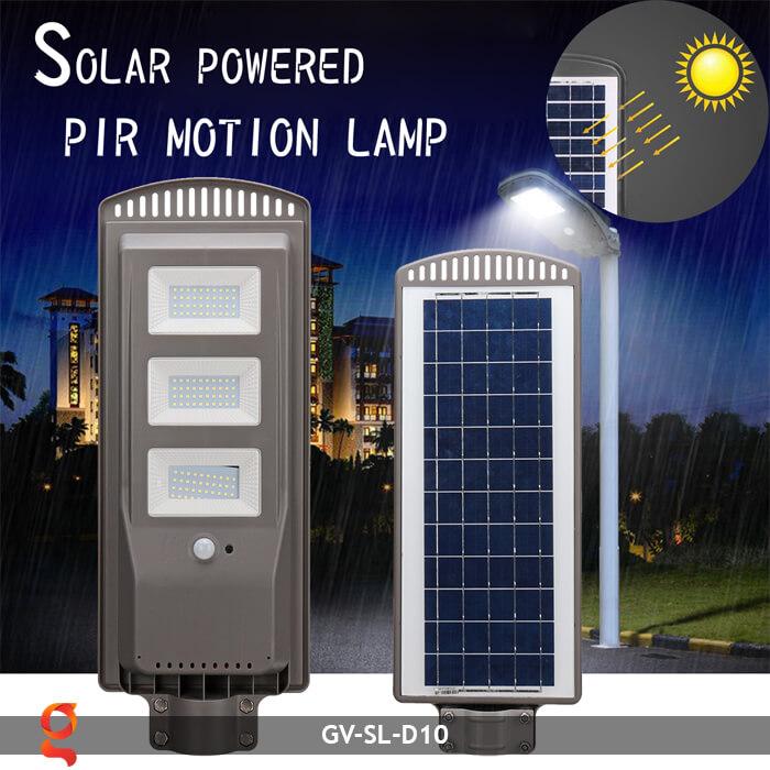 Đèn đường dùng năng lượng mặt trời GV-SL-D10 9
