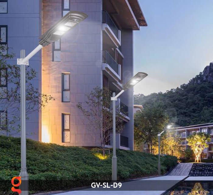 Đèn đường năng lượng mặt trời GV-SL-D9 12