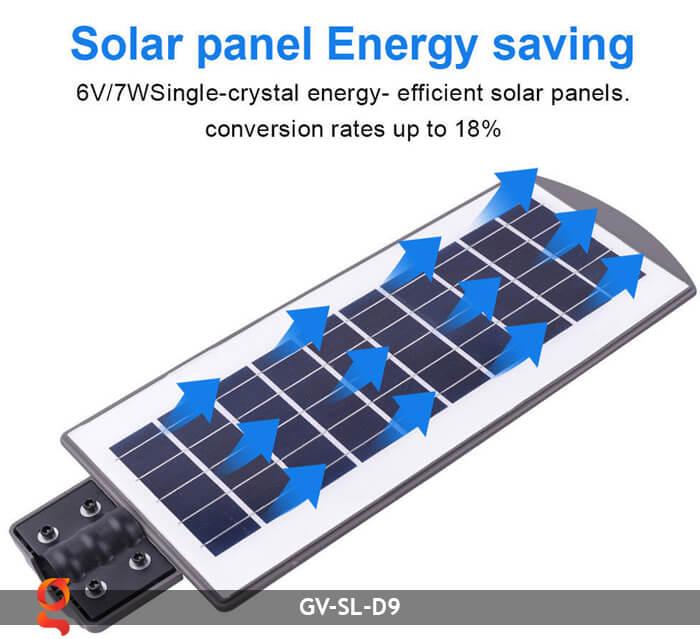Đèn đường năng lượng mặt trời GV-SL-D9 5