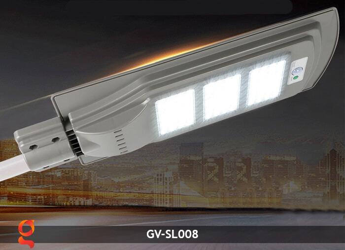 Đèn chiếu sáng đường năng lượng mặt trời GV-SL008 8