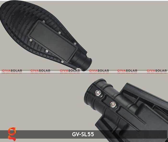 Bộ đèn đường năng lượng mặt trời nguyên set GV-SL55 16