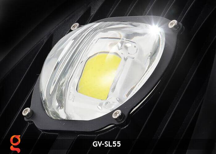 Bộ đèn đường năng lượng mặt trời nguyên set GV-SL55 18
