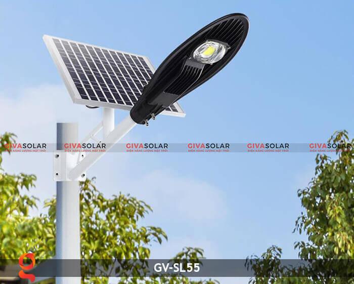 Bộ đèn đường năng lượng mặt trời nguyên set GV-SL55 6