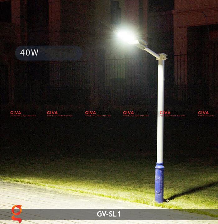 Đèn Led đường năng lượng mặt trời GV-SL1 12