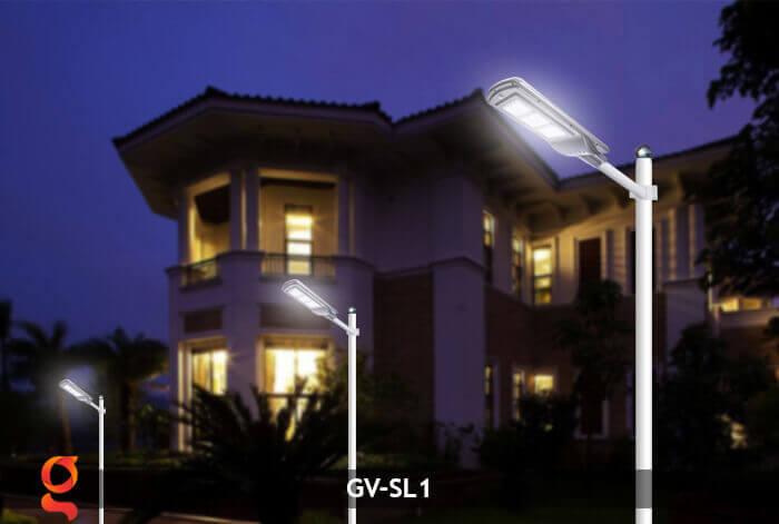 Đèn Led đường năng lượng mặt trời GV-SL1 13