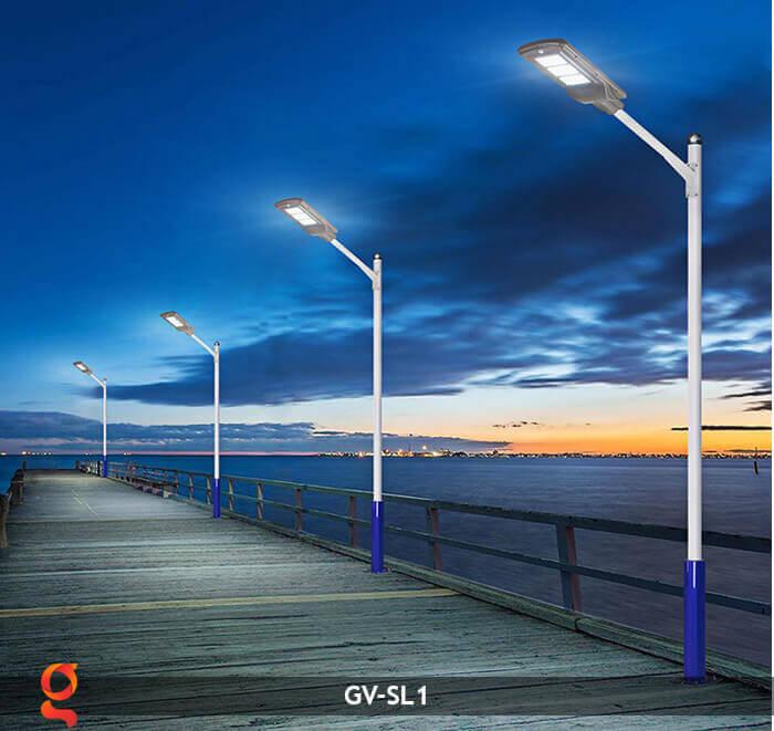 Đèn Led đường năng lượng mặt trời GV-SL1 14
