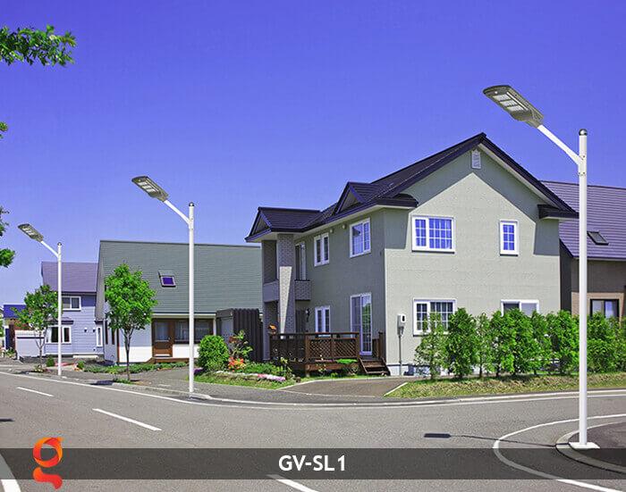 Đèn Led đường năng lượng mặt trời GV-SL1 15