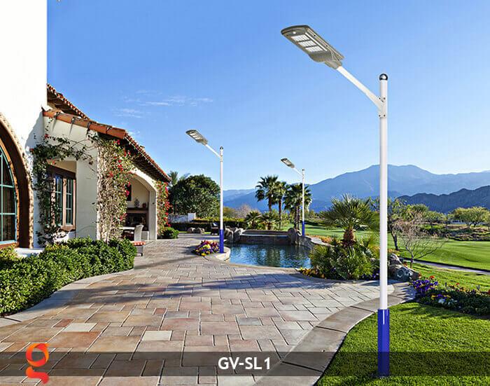 Đèn Led đường năng lượng mặt trời GV-SL1 16
