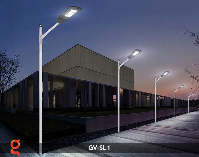 Đèn Led đường năng lượng mặt trời GV-SL1 17