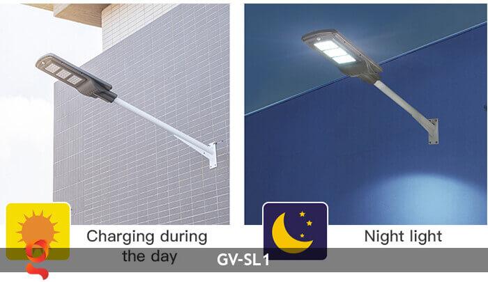 Đèn Led đường năng lượng mặt trời GV-SL1 7