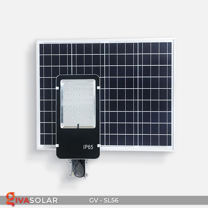đèn chiếu sáng đường năng lượng mặt trời GV-SL56 1