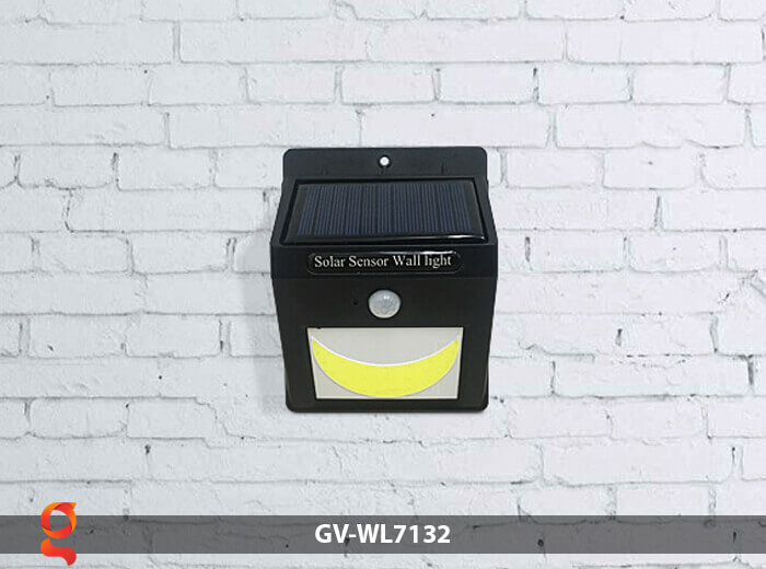 Đèn tường cảm biến năng lượng mặt trời GV-WL7132 6