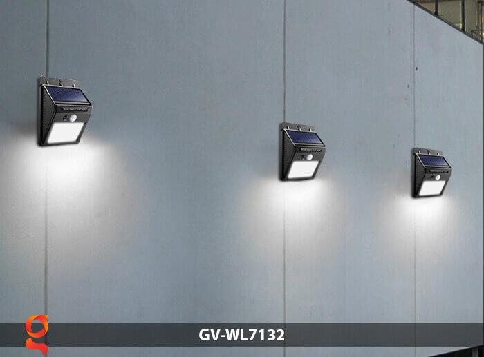 Đèn tường cảm biến năng lượng mặt trời GV-WL7132 8