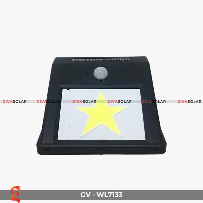 Đèn ốp tường cảm biến năng lượng mặt trời GV-WL7133 1