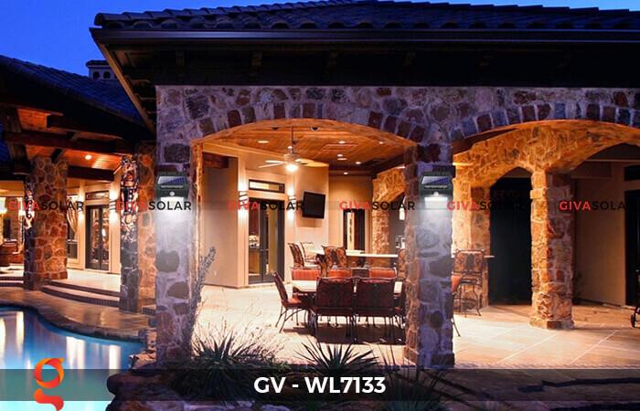 Đèn ốp tường cảm biến năng lượng mặt trời GV-WL7133 10