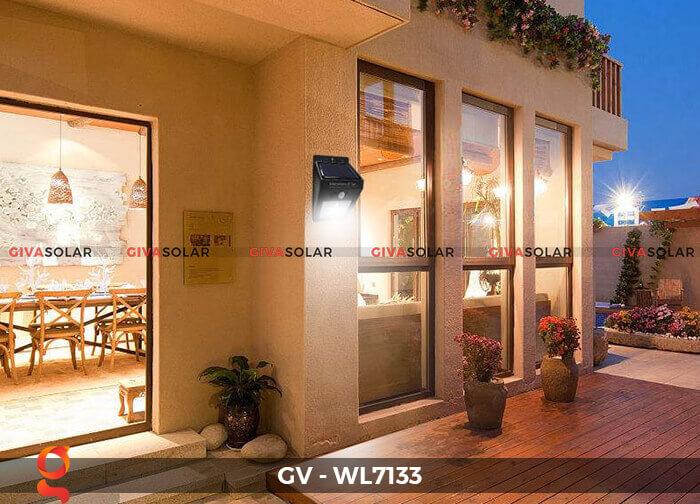 Đèn ốp tường cảm biến năng lượng mặt trời GV-WL7133 11