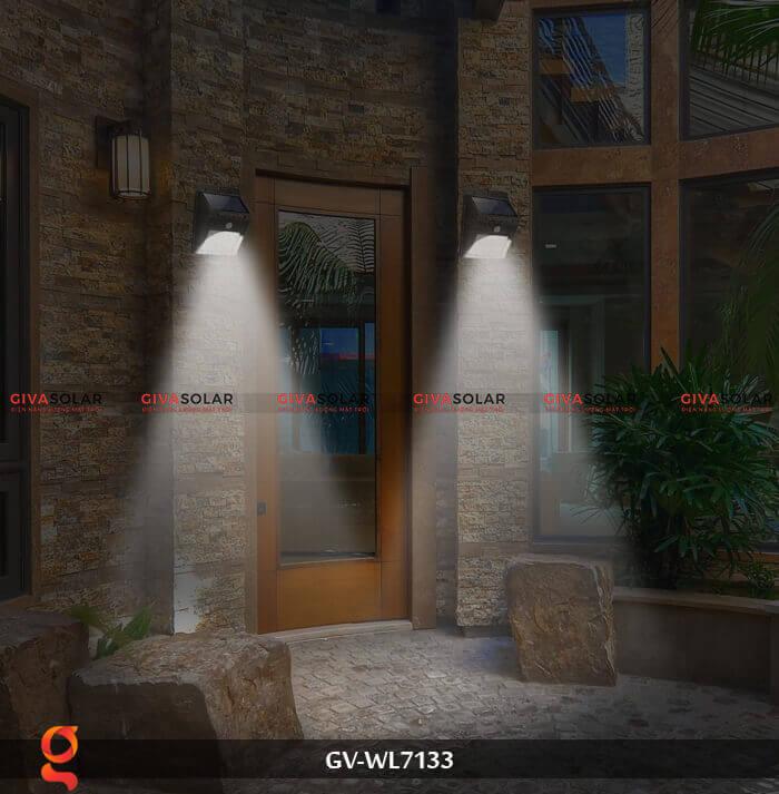 Đèn ốp tường cảm biến năng lượng mặt trời GV-WL7133 14