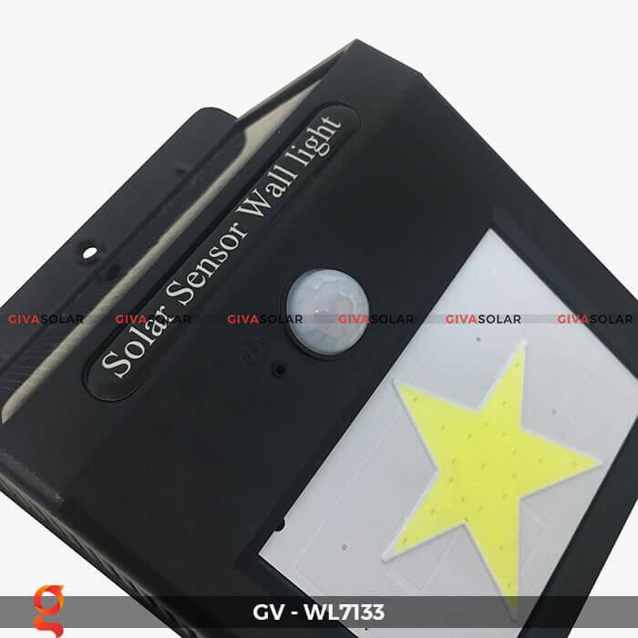 Đèn ốp tường cảm biến năng lượng mặt trời GV-WL7133 6