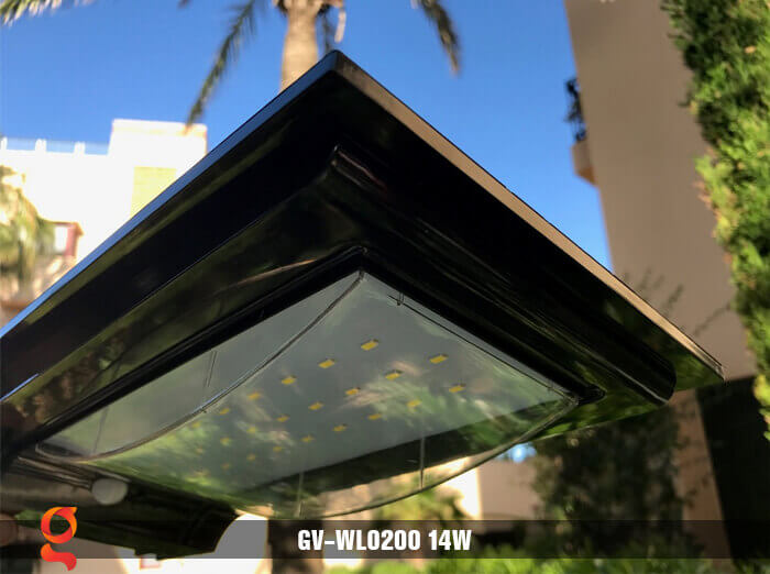 Đèn ốp tường năng lượng mặt trời GV-WL0200 13