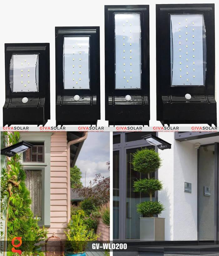 Đèn ốp tường năng lượng mặt trời GV-WL0200 15