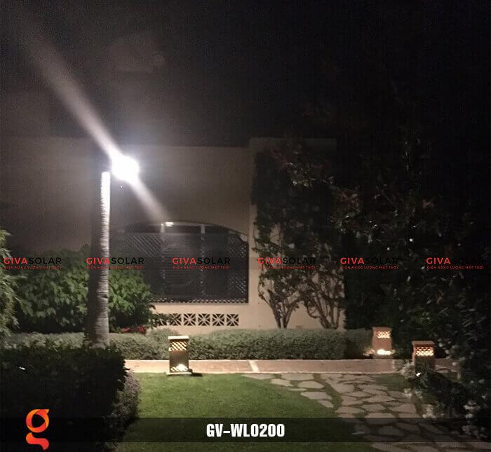 Đèn ốp tường năng lượng mặt trời GV-WL0200 16