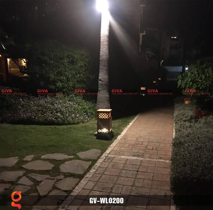 Đèn ốp tường năng lượng mặt trời GV-WL0200 17