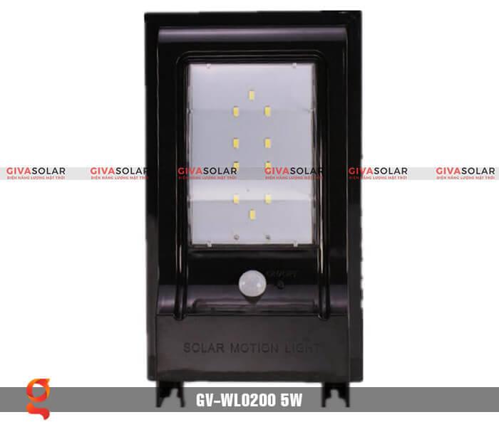Đèn ốp tường năng lượng mặt trời GV-WL0200 3