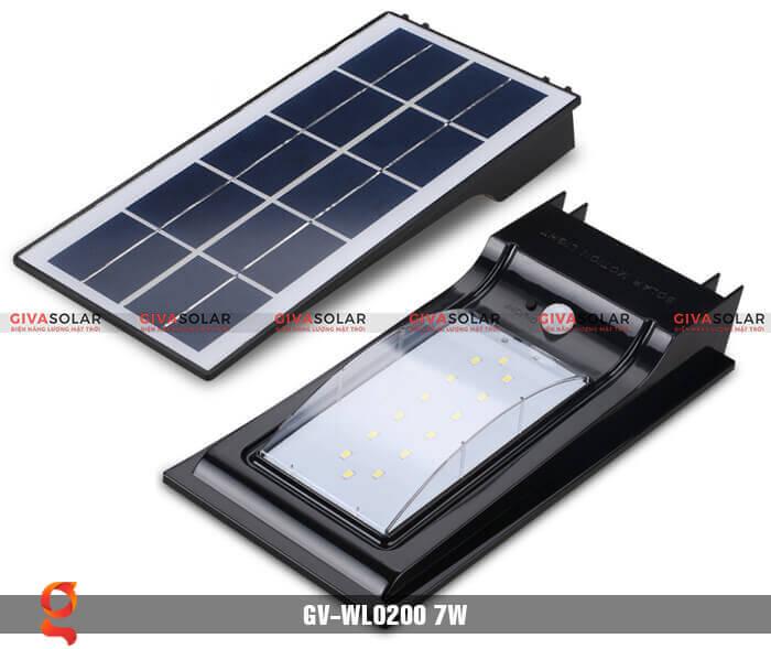 Đèn ốp tường năng lượng mặt trời GV-WL0200 6