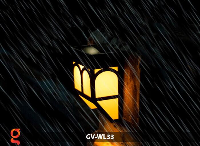Đèn ốp tường năng lượng mặt trời GV-WL33 10