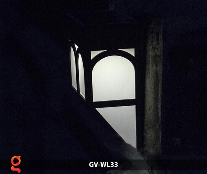 Đèn ốp tường năng lượng mặt trời GV-WL33 12