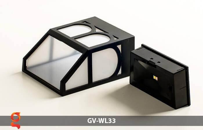 Đèn ốp tường năng lượng mặt trời GV-WL33 16