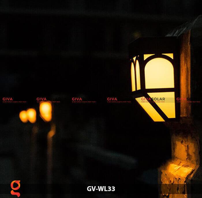 Đèn ốp tường năng lượng mặt trời GV-WL33 3