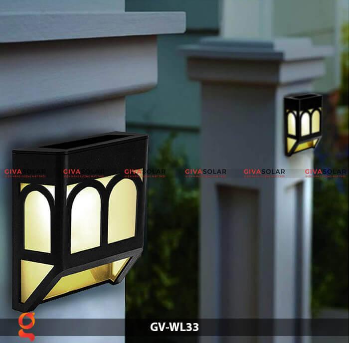 Đèn ốp tường năng lượng mặt trời GV-WL33 4
