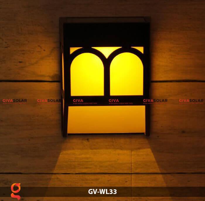 Đèn ốp tường năng lượng mặt trời GV-WL33 5