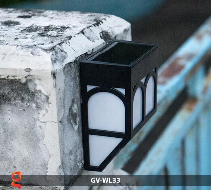 Đèn ốp tường năng lượng mặt trời GV-WL33 6