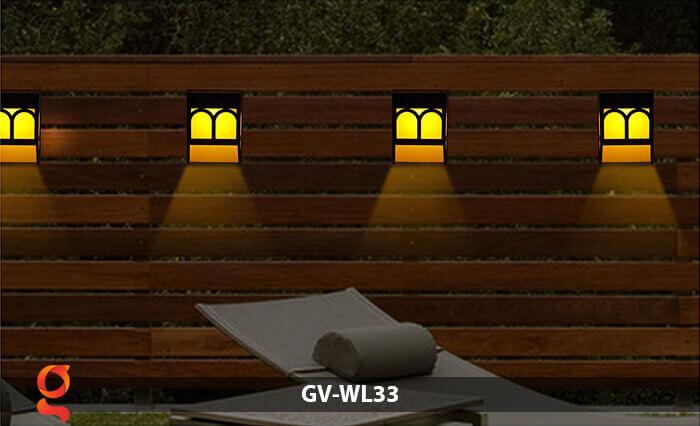 Đèn ốp tường năng lượng mặt trời GV-WL33 8