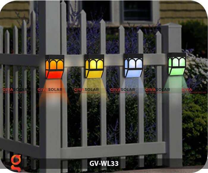 Đèn ốp tường năng lượng mặt trời GV-WL33 9