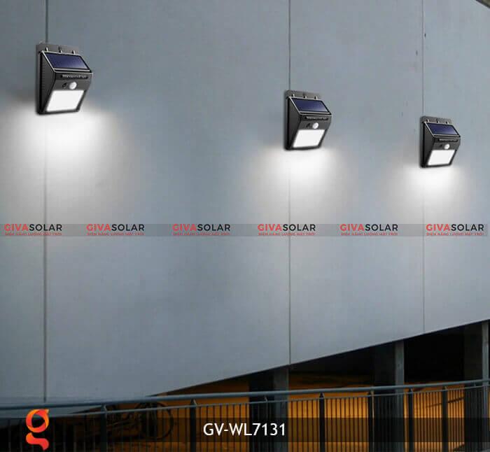 Đèn ốp tường năng lượng mặt trời GV-WL7131 9