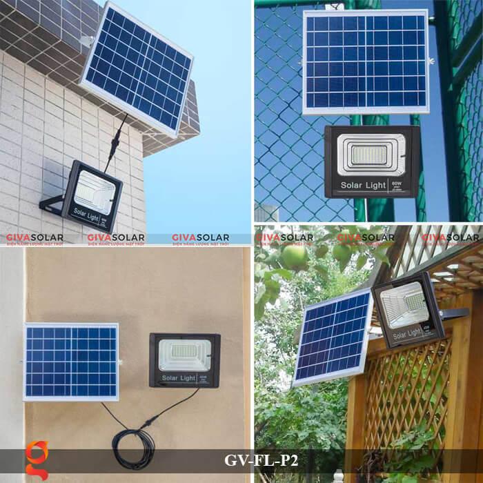 Đèn pha sử dụng năng lượng mặt trời GV-FL-P2 10
