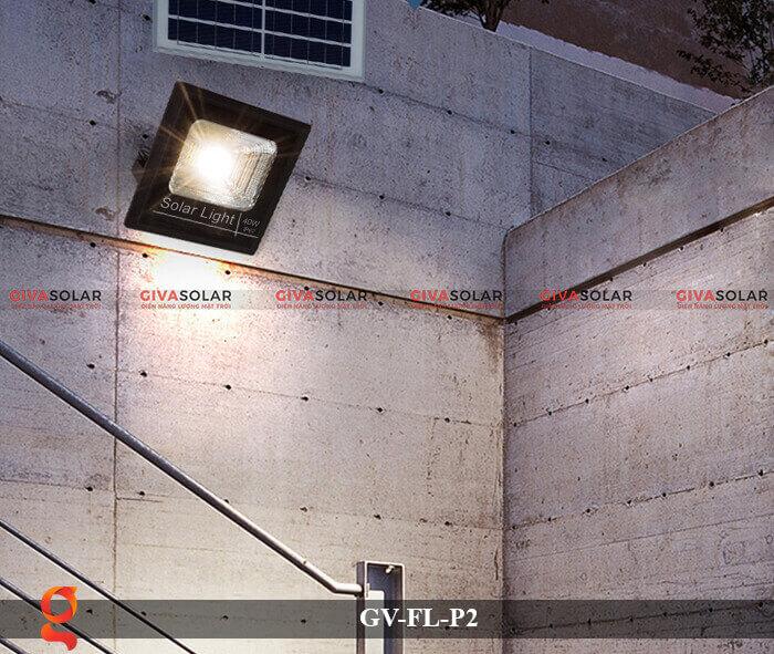 Đèn pha sử dụng năng lượng mặt trời GV-FL-P2 11
